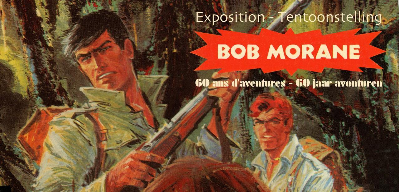 Expo carton BOB MORANE image