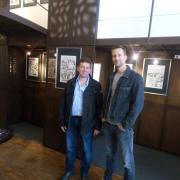 Expo Galerie  avec Kurt et Frédéric Genêt