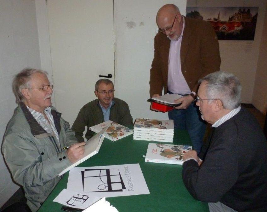 Hermann, Juan, Eugène et Patrick