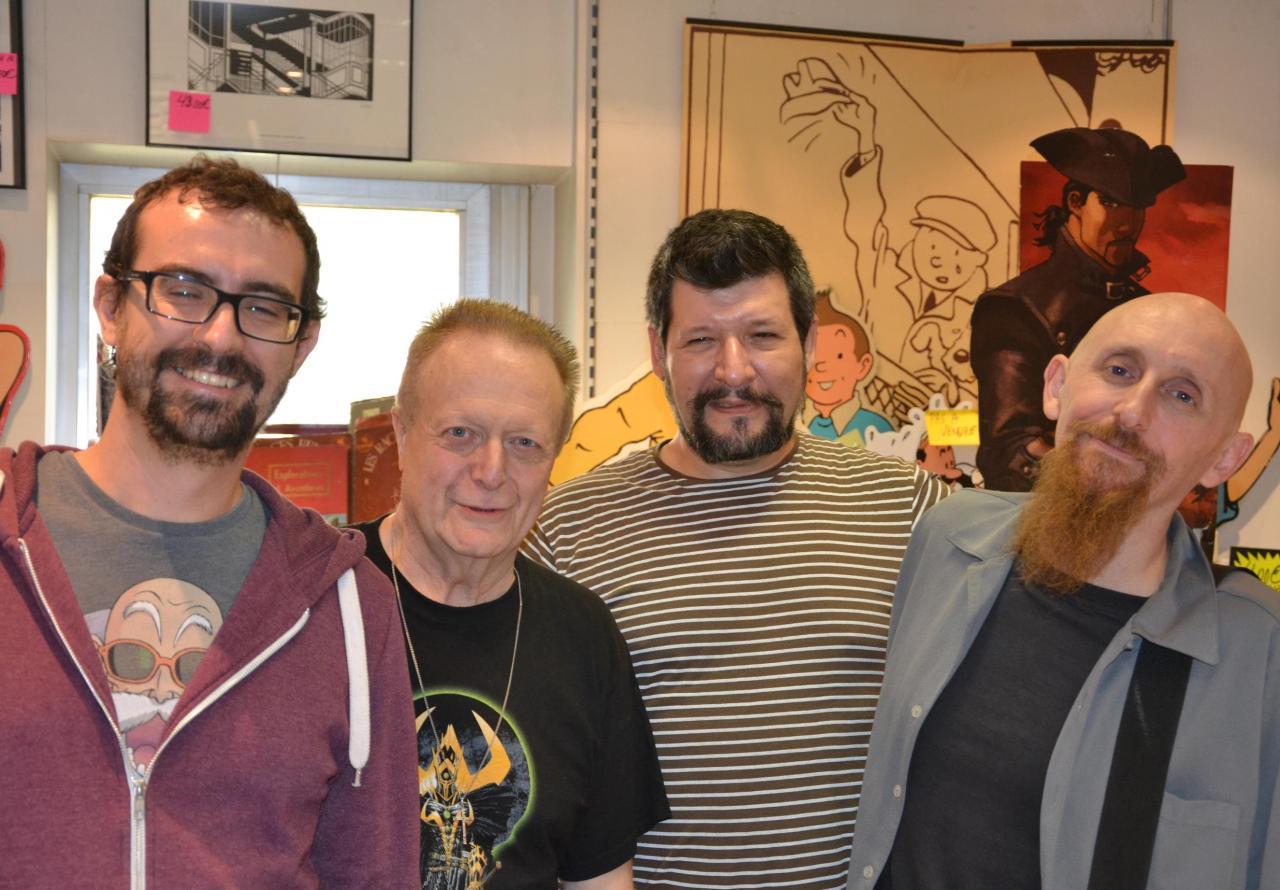 Ocaña, Laurent Paradise, Olmos et Portela