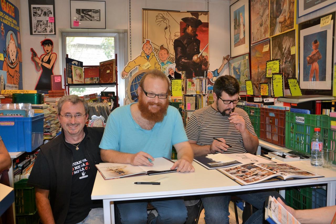 Juan, Ruizgé et Olmos