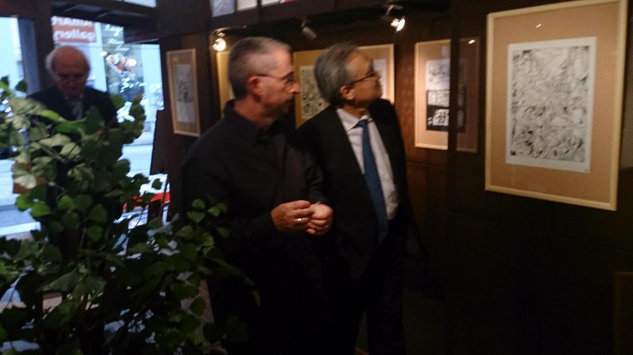 Juan et S. E. Monsieur l'Ambassadeur du Japon