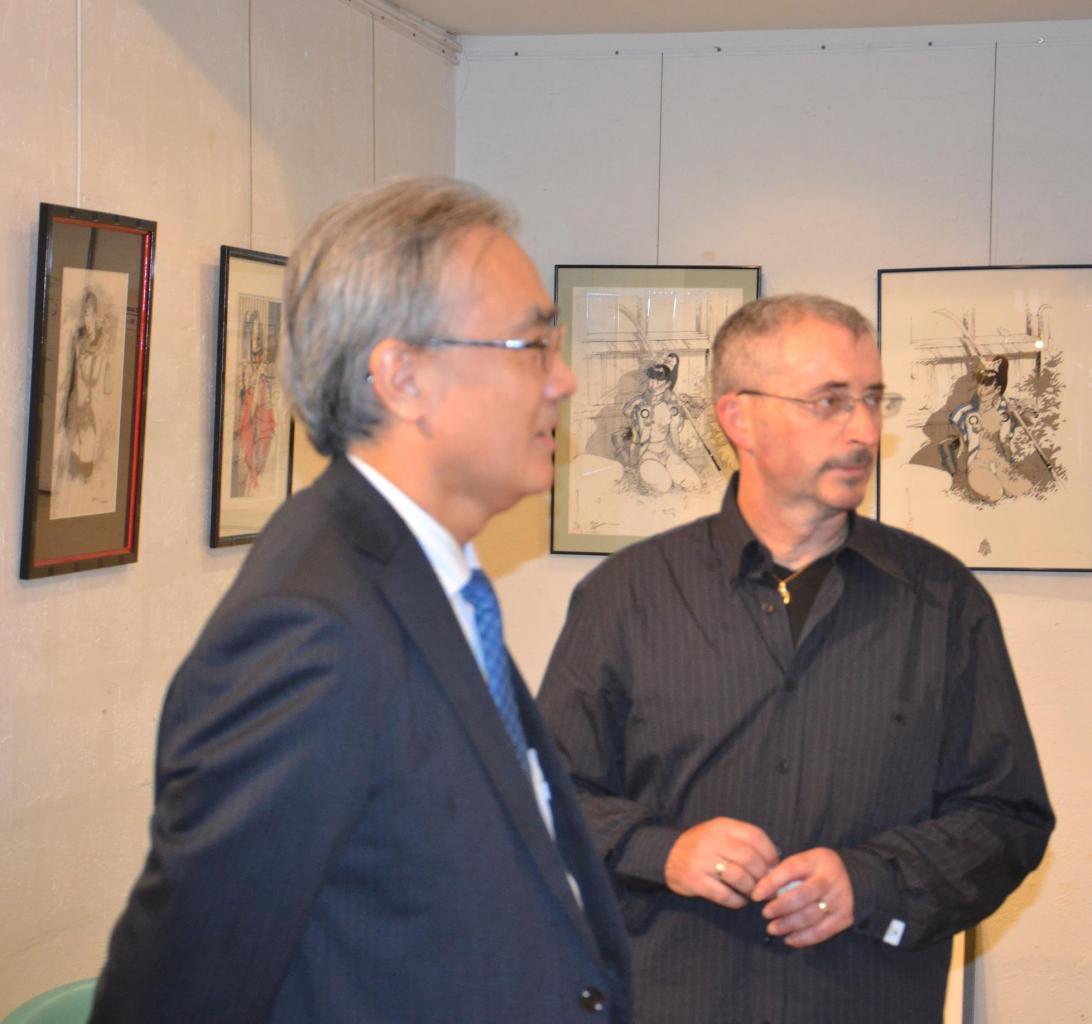 S. E. Monsieur l'Ambassadeur du Japon en Belgique