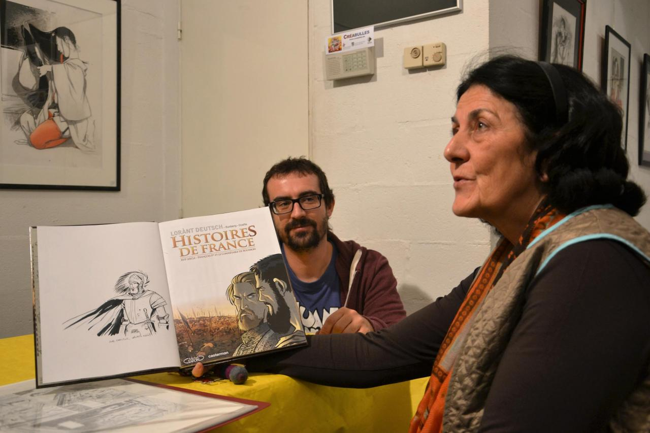 Ocaña et une lectrice