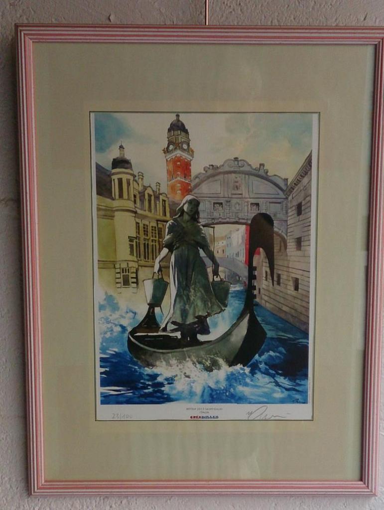 Affiche de Pompetti pour le BDTrip Italie