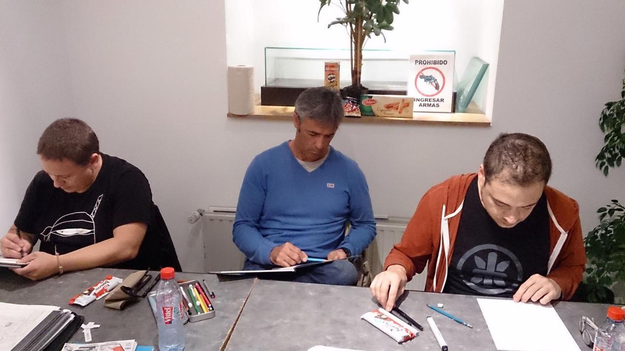 Garcia, Unzueta et Blanco