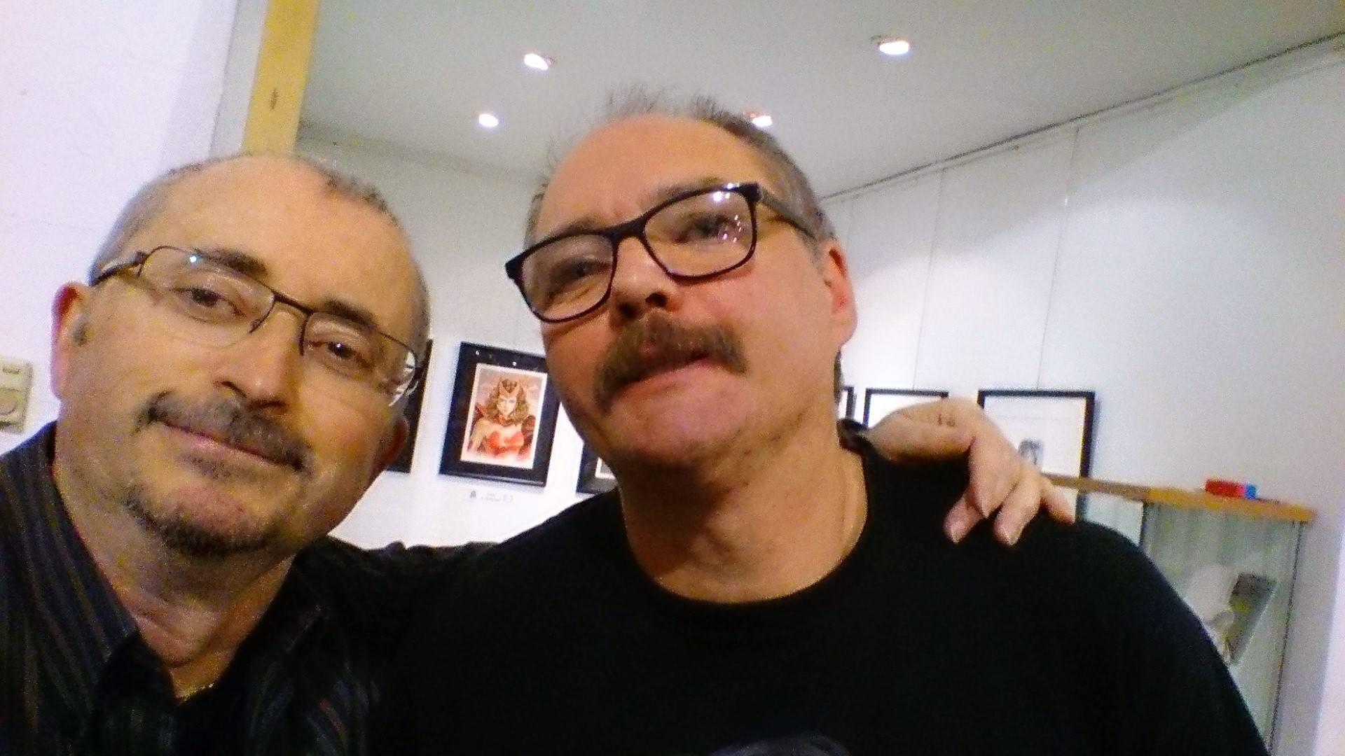 Juan et JF
