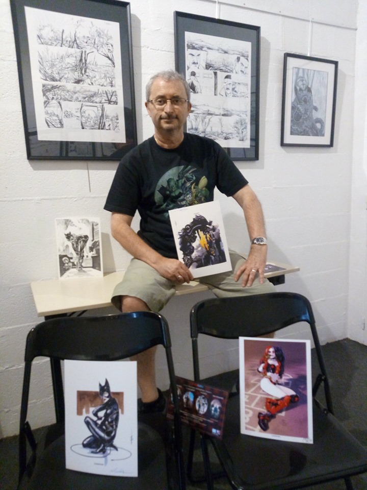Juan et les ex-libris spécial Batman