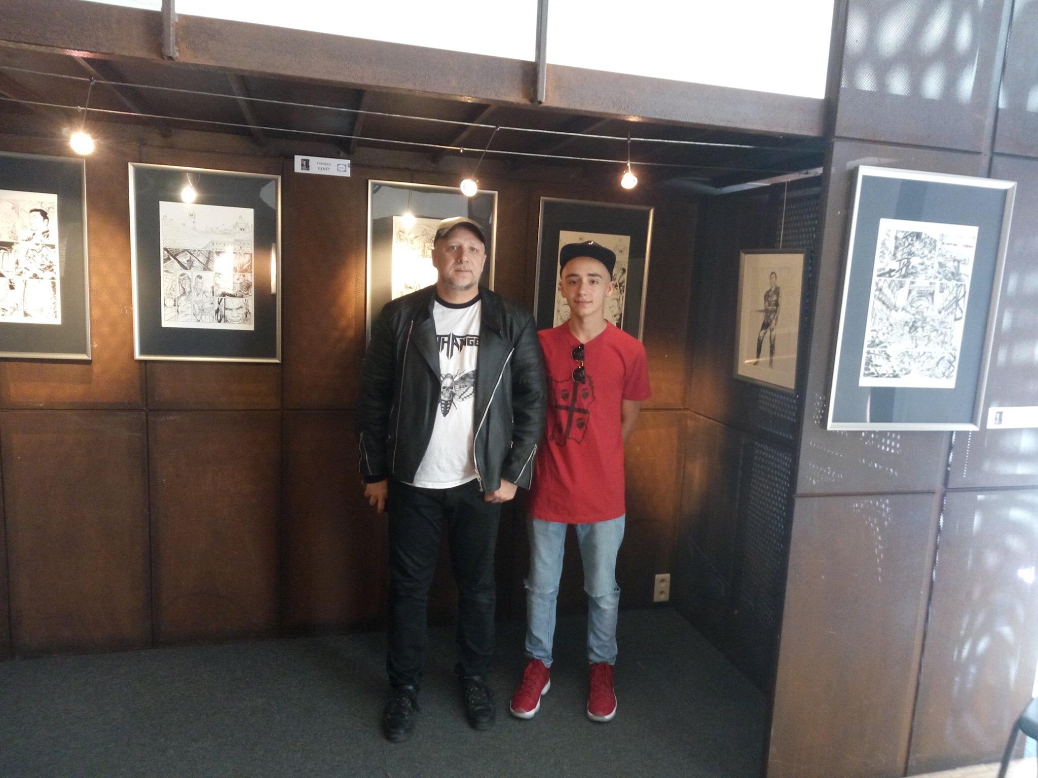 Mitch et son fils