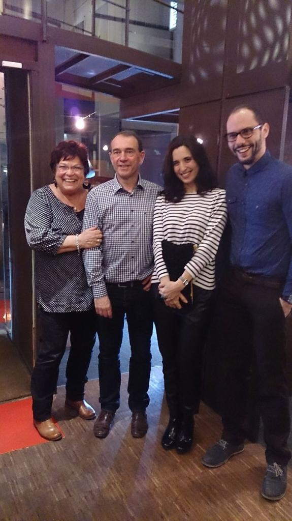 Pauline, Thierry, Helen & Julian