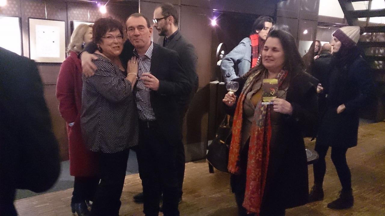 Pauline, Thierry, Julian et Delphine