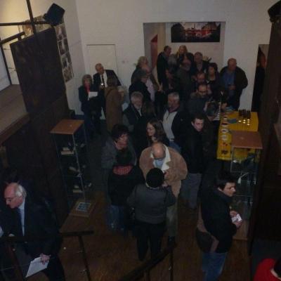Expo Nic en même temps que le vernissage de la Galerie Passerelle Louise.