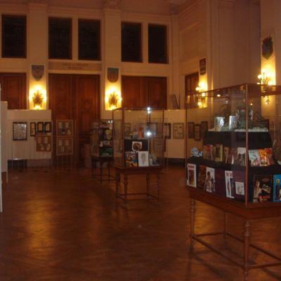 Expo salle de l'Europe à la maison communale de St-Gilles