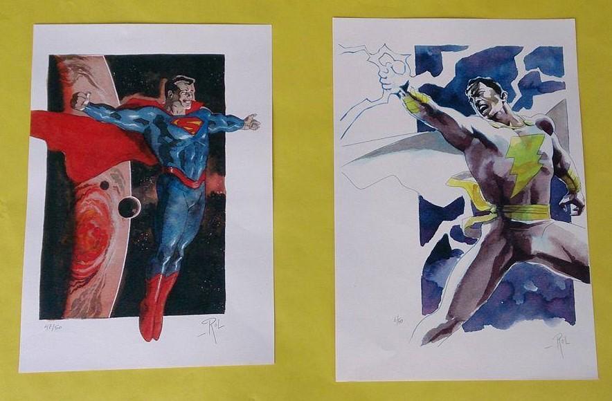 Superman et Shazam