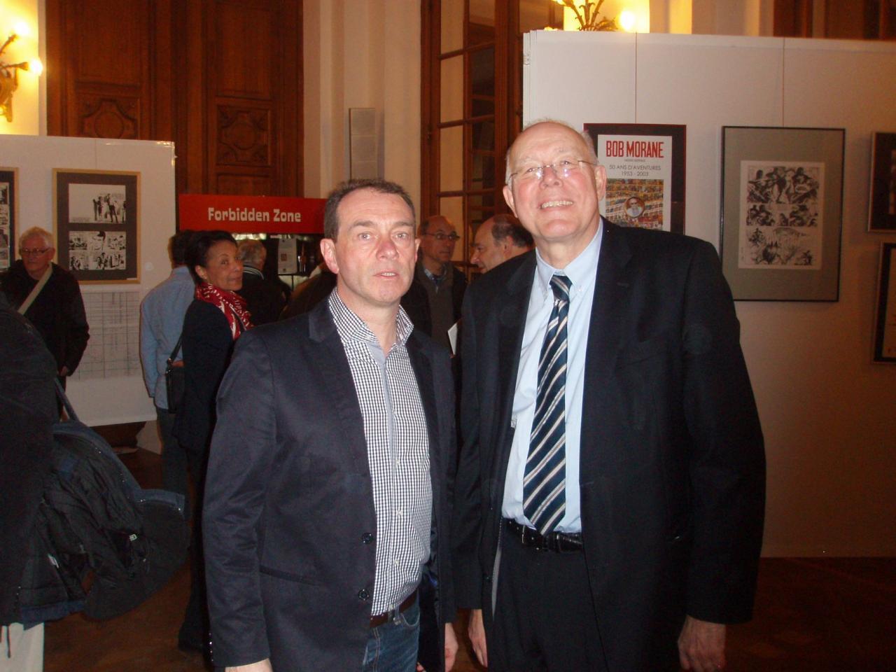Thierry avec M. Picqué