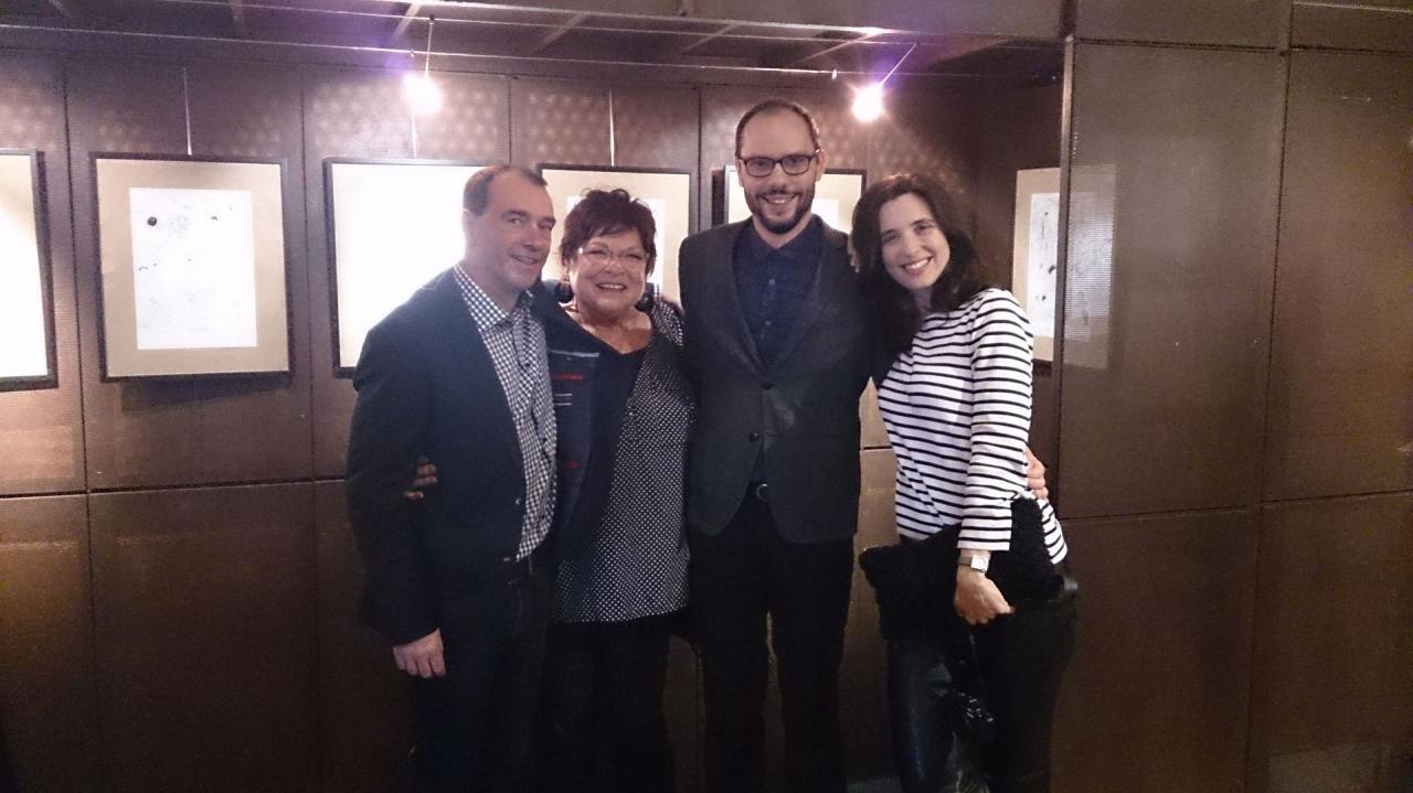 Thierry, Pauline, Julian et Helen