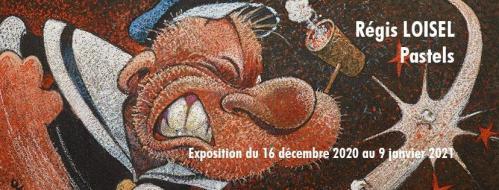 Expo Régis Loisel : Pastels