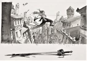 7 illustration saut de l ange epee