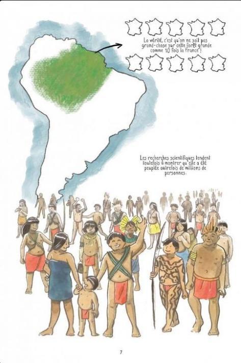 A la recherche de l amazonie planche autre