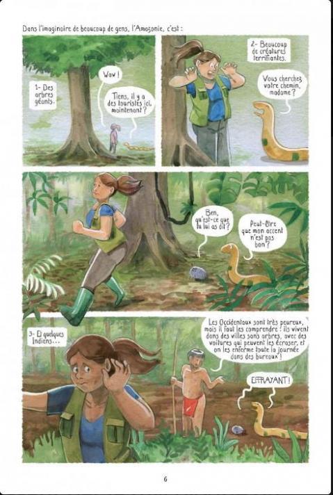 A la recherche de l amazonie planche