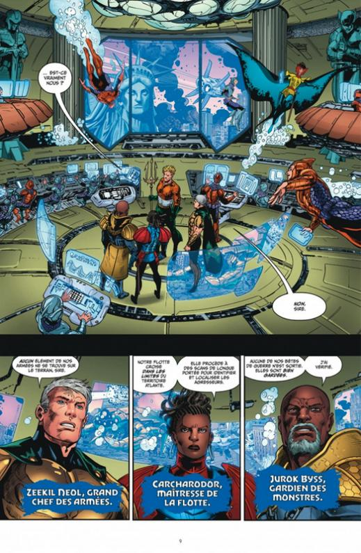 Aquaman 2 le deluge planche