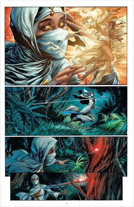 Aquaman 2 planche