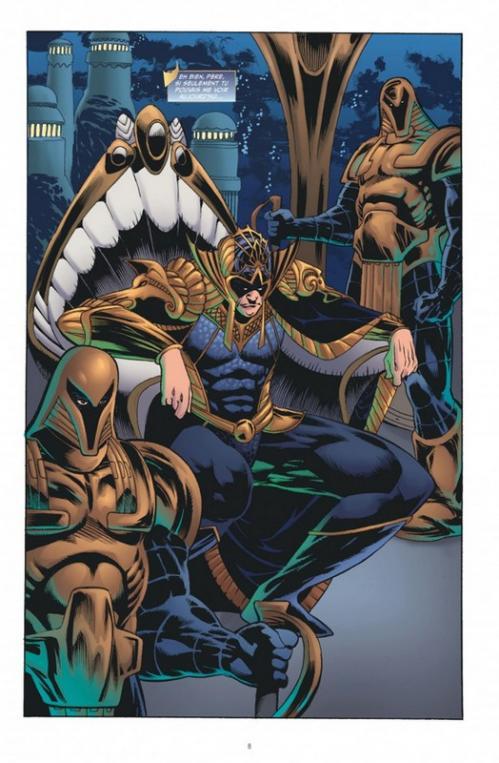 Aquaman 5 planche