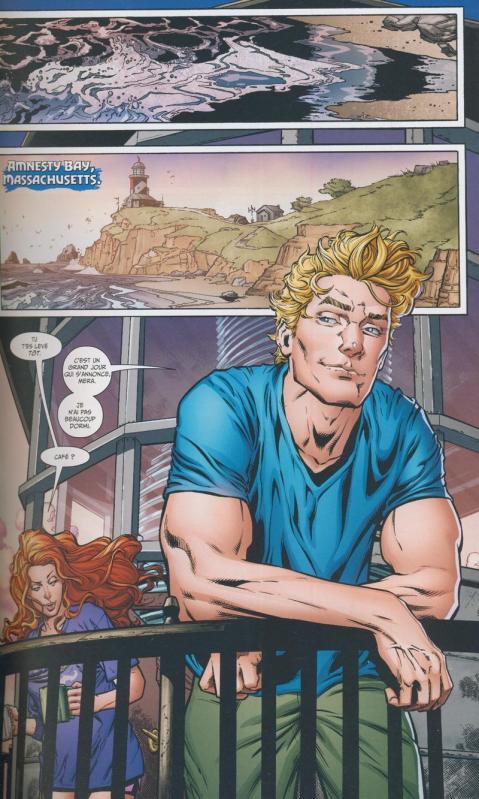 Aquaman rebirth 1 planche