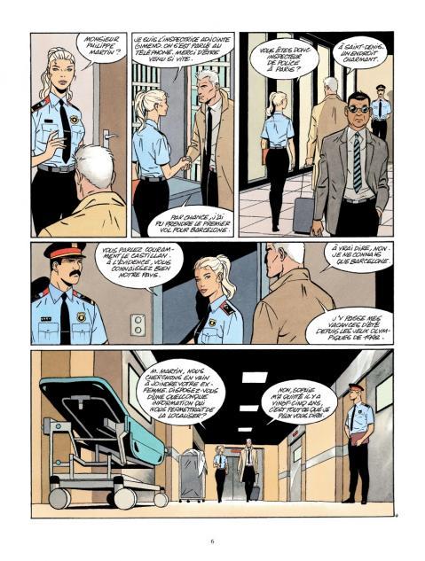 Art de mourir planche police espanole