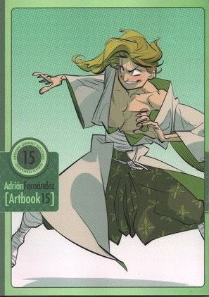 Artbook 15 Adrán FERNÁNDEZ