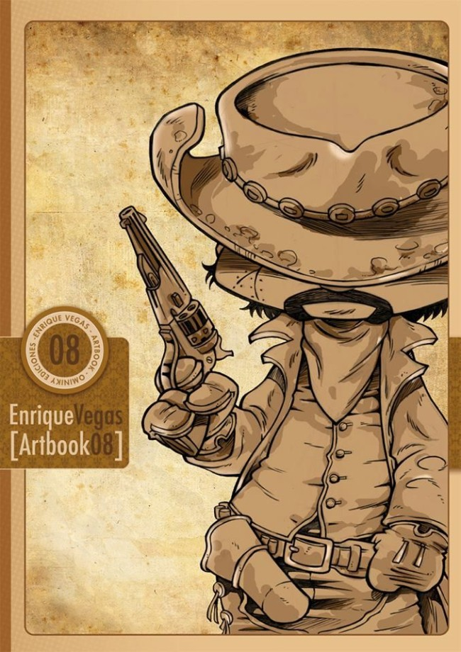 Artbook 8 Enrique VEGA
