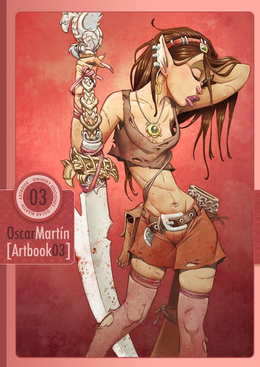 Artbook 3 Oscar MARTIN