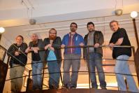 Auteurs a la galerie paserelle louise