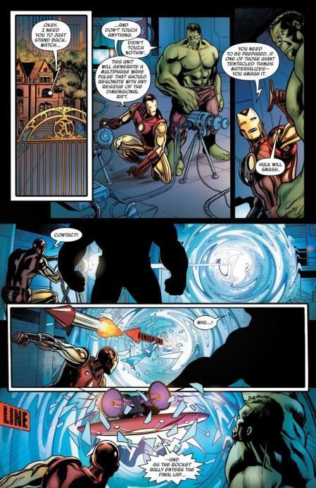 Avengers defenders planche vo autre
