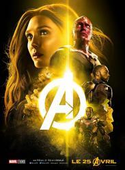 Avengers iw scarlet witch et la vision