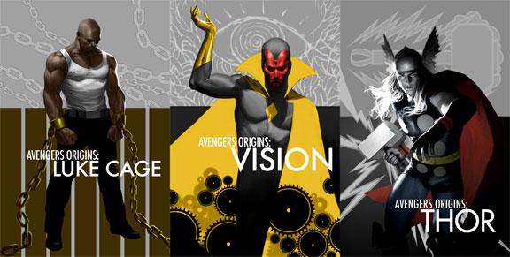 Avengers origins vo