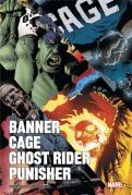 Banner cage punisher ghost rider