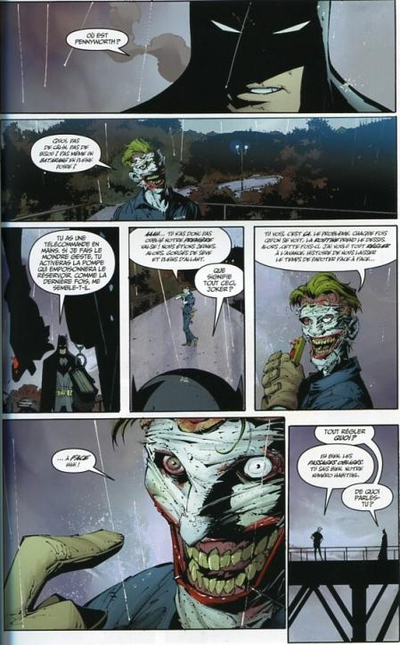 Batman 3 le deuil de la familleplanche
