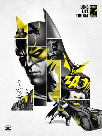 Batman 80 main key art