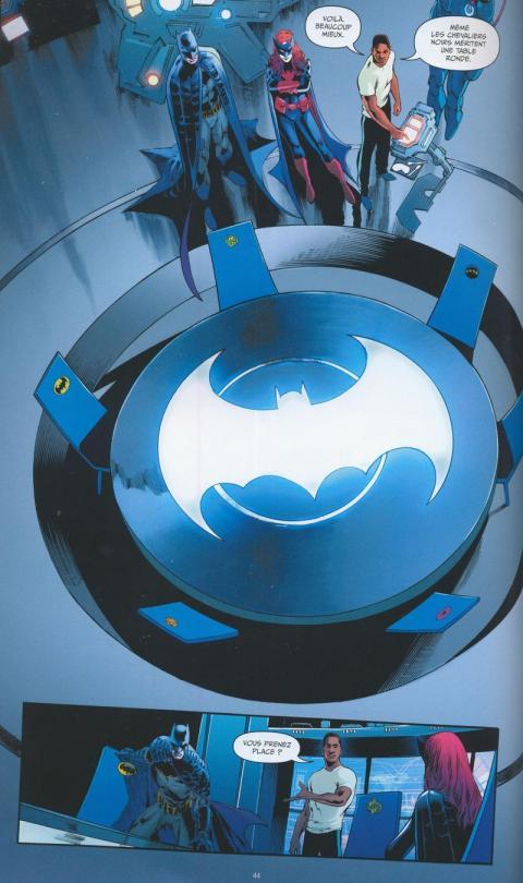 Batman detective comics 2 planche