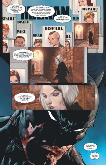 Batman et robin eternal 1 planche