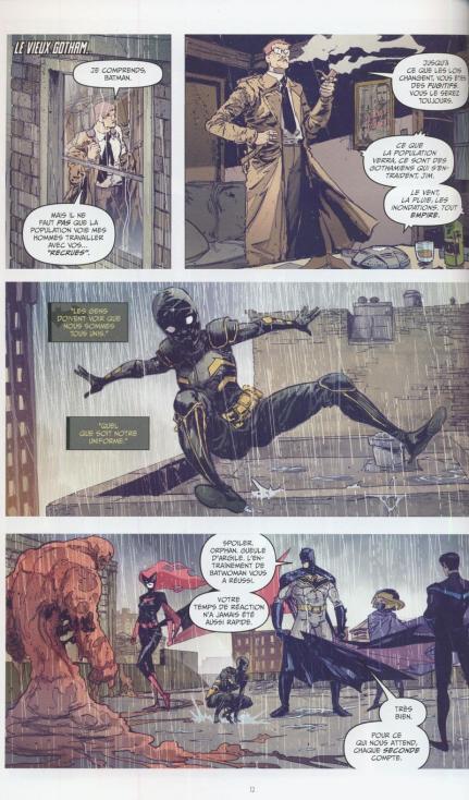 Batman la nuit des monstres planche r