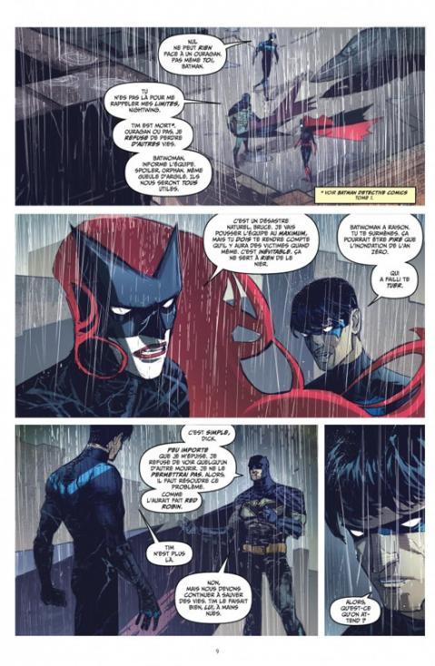 Batman la nuit des monstres planche