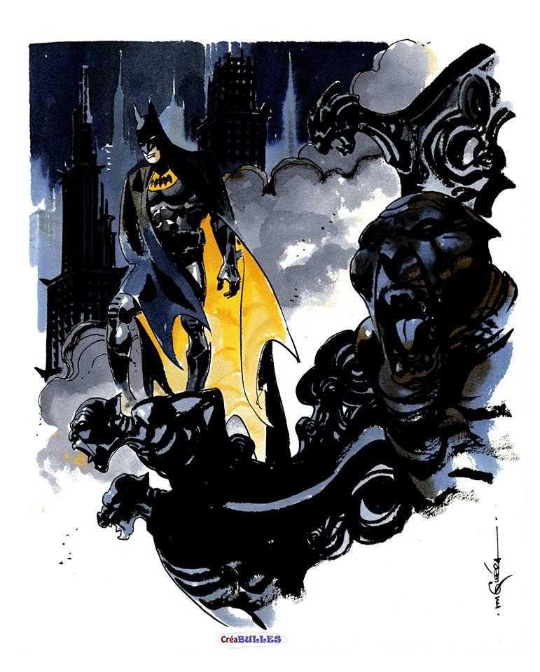Ex-Libris RM GUERA Batman