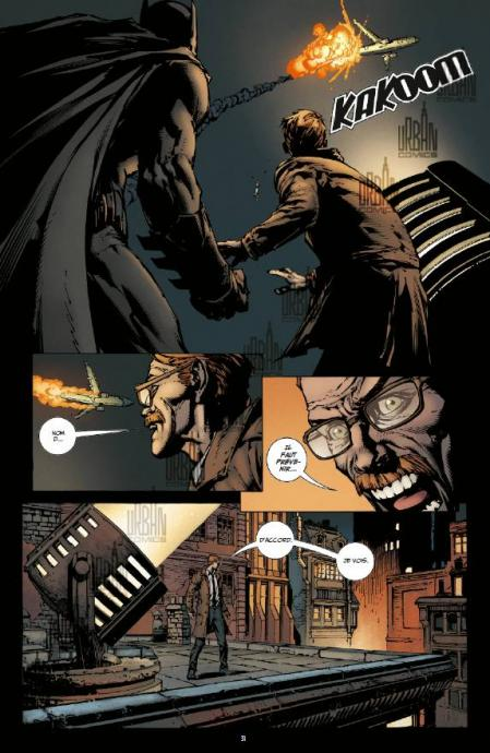 Batman rebirth 1 planche