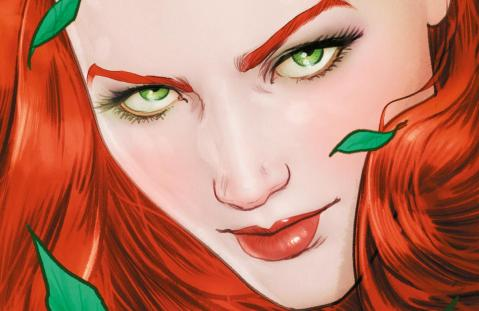 Batman rebirth 6 banner ivy