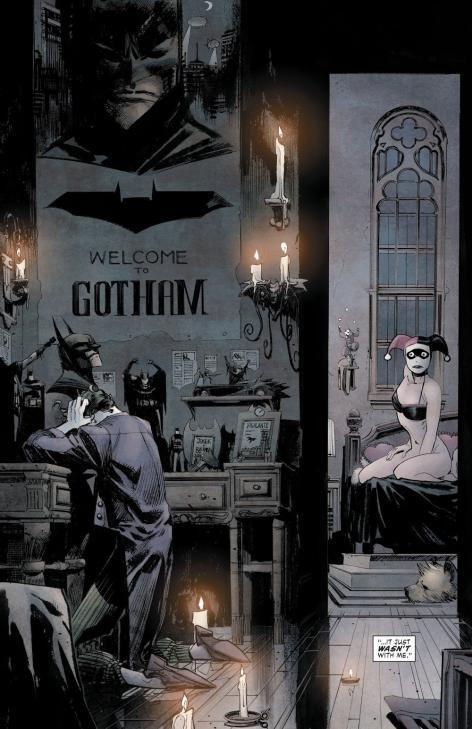 Batman white knight joker et harley 1