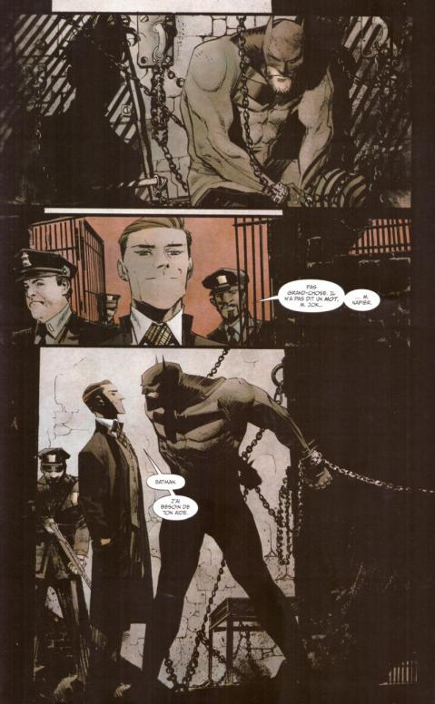 Batman white knight planche