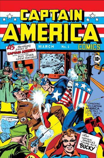Captain america 1 1940