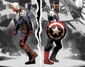 Captain america faucon